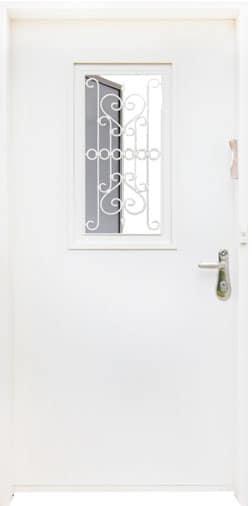 דלת כניסה 2024 עם חלון נפתח